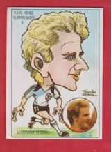 West Germany Karl-Heinz Rummenigge Bayern Munich 9